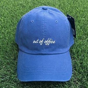 SALE NWT Out Of Office Blue Casual Hat